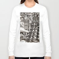 dalek Long Sleeve T-shirts featuring DALEK INVASION by Bungle