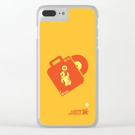 UNDO   Music to the people 04 Clear iPhone Case