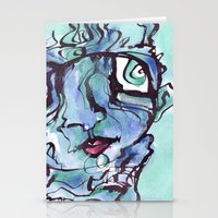 chill Stationery Cards featuring Chill by 5wingerone