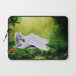 Pegasus By The Stream Laptop Sleeve
