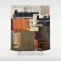 kit king Shower Curtains featuring KIT by Paul Prinzip