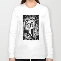 boxing Long Sleeve T-shirts featuring boxing by natalie shaul