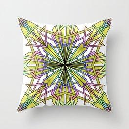 Shine Your Light Throw Pillow