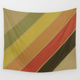 Retro Circus Color Palette Wall Tapestry