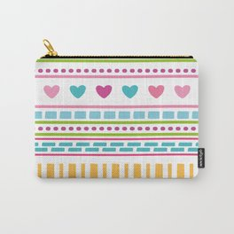 geometry line shape pattern Carry-All Pouch