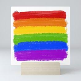 Rainbow Pride Flag Mini Art Print