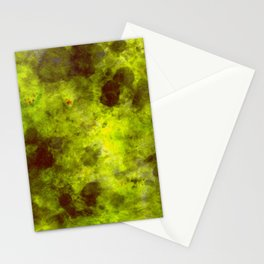 Olivine DyeBlot Stationery Cards