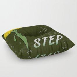Dandeliono Character poster (STEP) Floor Pillow