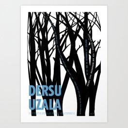 Dersu Uzala Art Print