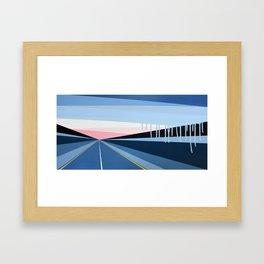 Highwayscape #8 Framed Art Print