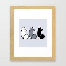 Feelin' Foxy Framed Art Print