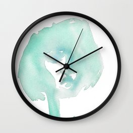 Teal Wall Clock