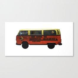 Surf School Bus Canvas Print