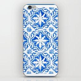Hampton blue iPhone Skin