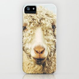 Curly I iPhone Case