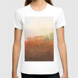 Newport News, Virginia Skyline- In the Clouds T-shirt