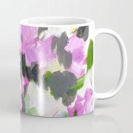 abstract flower painting Coffee Mug