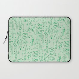green montage Laptop Sleeve