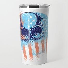 Skull Flag Travel Mug