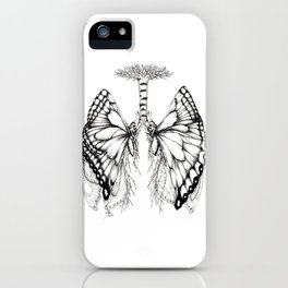 Butterfly Lungs iPhone Case