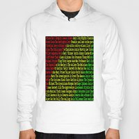 reggae Hoodies featuring Reggae Artist - Roll Call by The Peanut Line