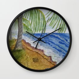 Beach Life 1 Wall Clock