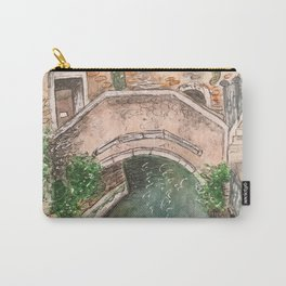Venice Streets Carry-All Pouch