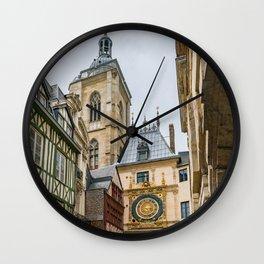 Gros Horloge Wall Clock