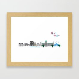 Love Galway - Illustrations Framed Art Print