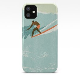 Riding giants iPhone Case