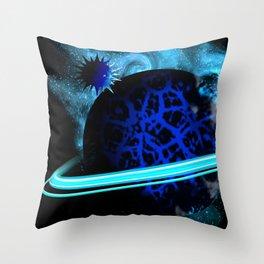 Galactic Winter Throw Pillow