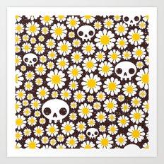 Camomile. Art Print