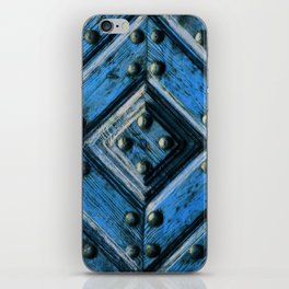 artifact wooden door iPhone Skin