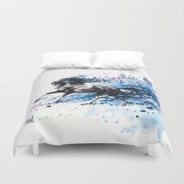 """""""Poseidon"""" Duvet Cover"""