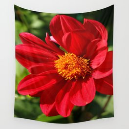Red Is Beautiful Wall Tapestry
