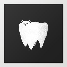Molar Bear Canvas Print