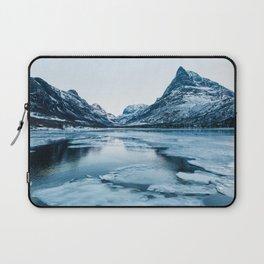 Winter in Innerdalen Laptop Sleeve