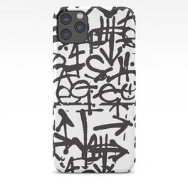 Graffiti Pattern iPhone Case