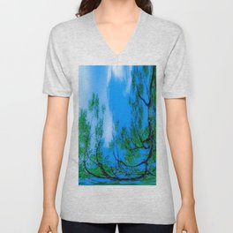 A tree is born Unisex V-Neck