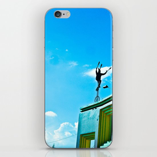 THE WIND AND THE BALANCE iPhone Skin