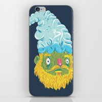 gnome iPhone & iPod Skins featuring Gnome by Bobe Menchaca
