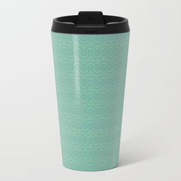 Organic Cellular Pattern Travel Mug
