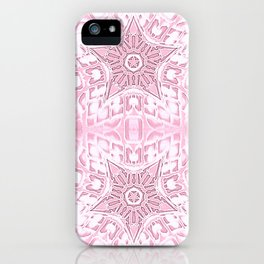 Pink Gothic Stars iPhone Case