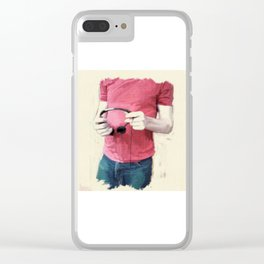 Headphones Clear iPhone Case