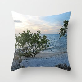 On the Banks of the Peace River Throw Pillow