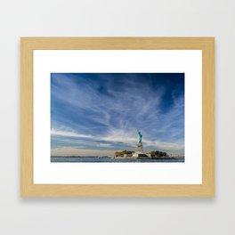 Liberty Island Framed Art Print