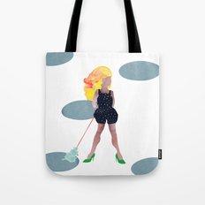 Girl & Dog Tote Bag