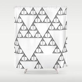 Deathly Hallows Shower Curtain
