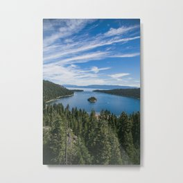 Emerald Bay, Lake Tahoe Metal Print