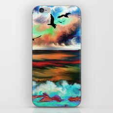 Ocean Galore iPhone & iPod Skin